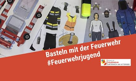 Basteln mit der Feuerwehr – für Zuhause!