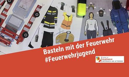 Basteln mit der Feuerwehr – für Zuhause!
