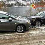 14.01.2021: Einsatz nach Verkehrsunfall auf B151 Richtung Mondsee