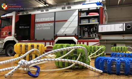 Atemschutzausbildung in der Feuerwehr