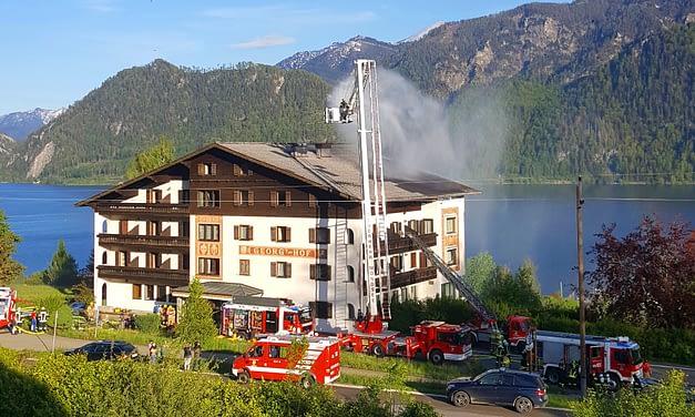 Übung – Brand in Gebäude mit Menschenansammlung