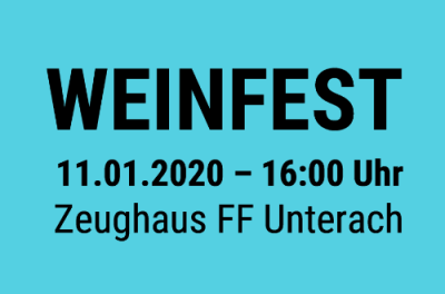 13. Weinfest der FF Unterach – 11.01.2020