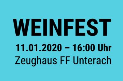 13. Weinfest der FF Unterach – 11.01.2020