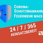 Corona-Schutzmaßnahmen – Feuerwehr mach mit!